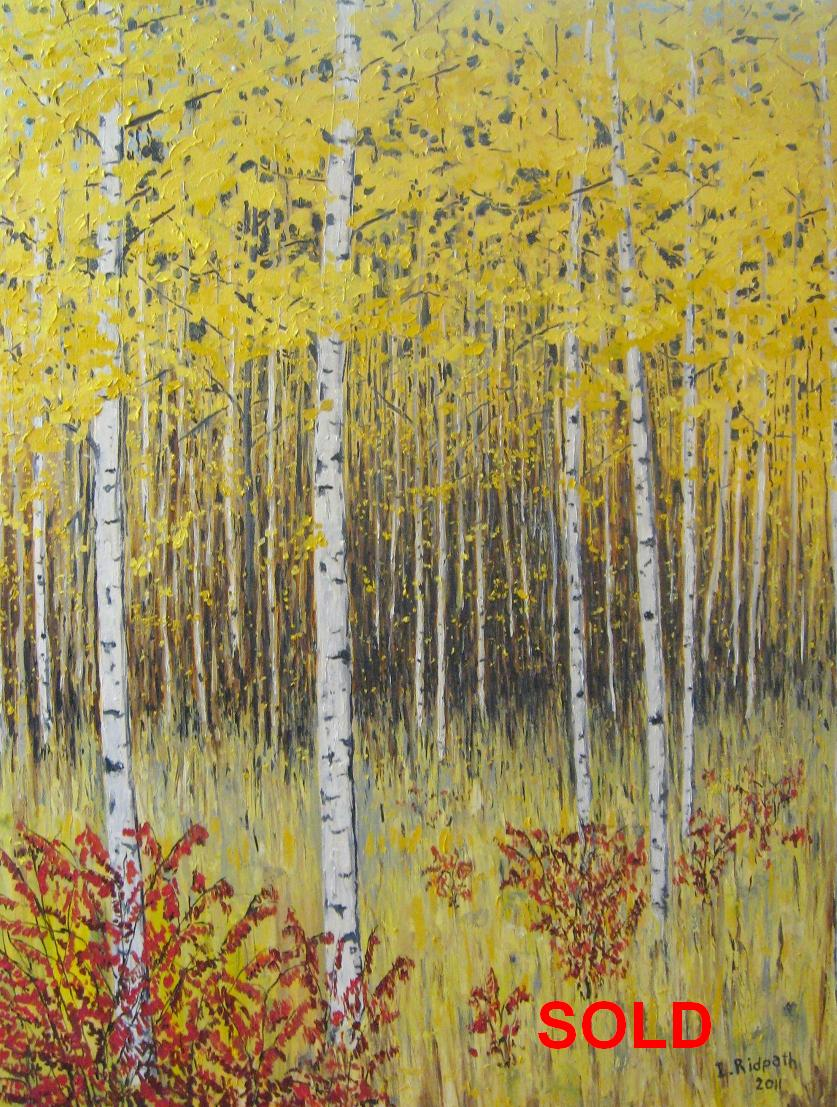 Birches and Sumacs